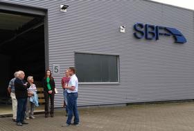 Unternehmensrundgang bei der SBF zu den Tagen der Industriekultur