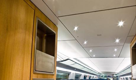 Integriertes Leuchtenband