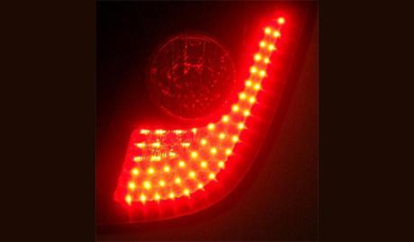 Luz de cabeza, luces combinadas LED y halógenas