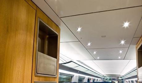 Ruban de lumière intégré