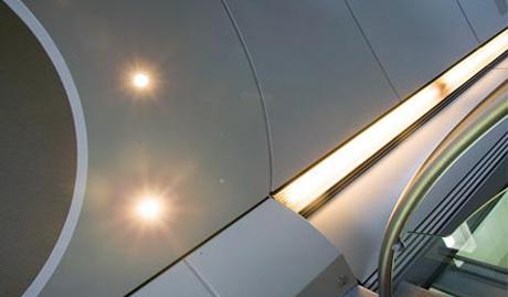 Lampes de plafond insérées
