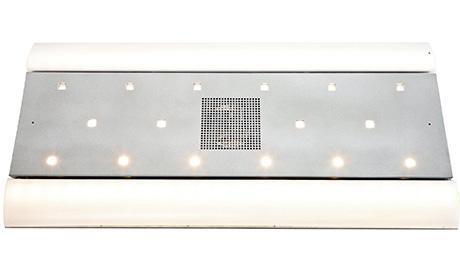 Aluminiowy system sufitu środkowego z zamontowanym oświetleniem awaryjnym