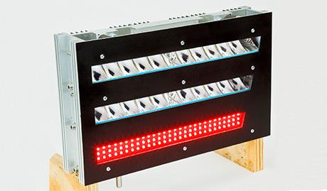 Światła czołowe LED w obudowie aluminiowej