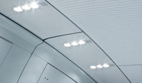 Интегрированная полоса светильников