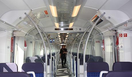 Алюминиевая система центральной части потолка с интегрированным аварийным освещением